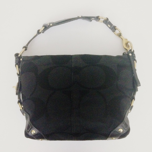 4348b877 Coach Carly Purse Hobo Black No. K0771-10619
